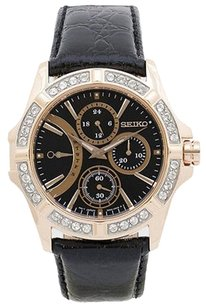 Seiko Seiko Srlz90 Womens Watch Brown -
