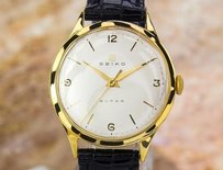 Seiko Seiko Super Vintage Gold Plate Stainless Steel Manual 50s Watch Scx251