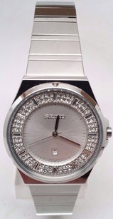 Seiko Seiko Swarovski Crystal Ladies Watch Sxdf71