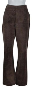 Siena Studio Womens Casual Suede Textured Trousers Pants