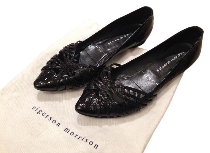fashionable online Sigerson Morrison Studded Pointed-Toe Flats free shipping collections sale in China discount 2014 newest d7F6r4