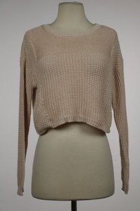 Silence + Noise Womens Pink Sweater