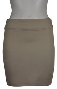 Silence + Noise And Womens Straight Above Knee Pencil Skirt Ivory