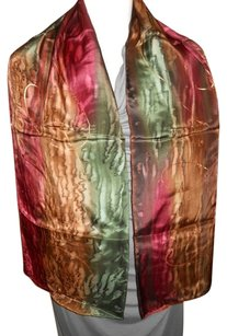 Silk Bijoux Silk Bijoux hand painted silk scarf with matching ring