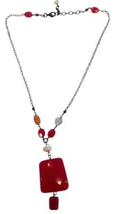 Silpada Silpada special red pendant necklace and earrings