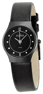 Skagen Denmark Skagen Black Ceramic Ladies Watch