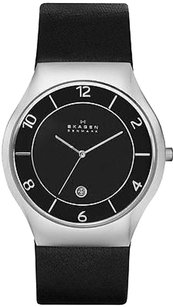 Skagen Denmark Skagen Grenen Leather Mens Watch Skw6115