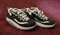 Skechers Flawless Shape Ups Black/White Athletic