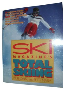 Ski Magazine's Total skiing Ski Magazine's Total Skiing soft cover sport athletic book gift ski resort guide