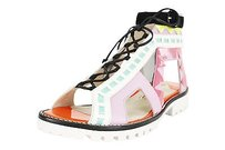 Sophia Webster Womens Open Toe Leather multi-colored Sandals