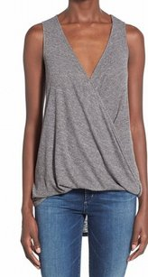 Soprano Cami New With Tags Polyester Top Gray