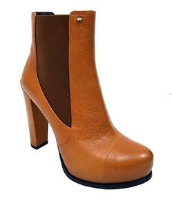 Sportmax Copper Pull On Leather Palmi Short 120255mm Browns Boots