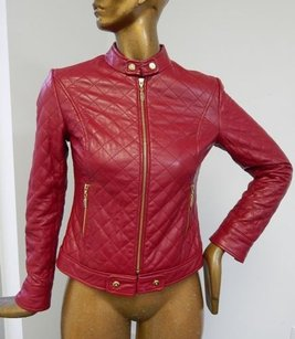 St. John St Sport Diamond Quilted Red Jacket