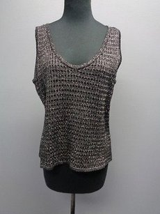 St. John St Sport Stretchy Top Black And Silver