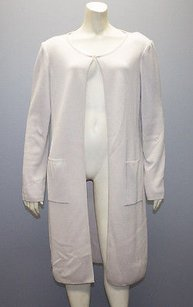 St. John Wool Blend Open Sweater