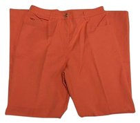 St. John Sport Coral Cotton Blend Pants