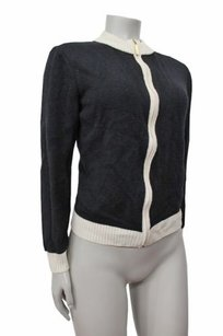 St. John John Long Sleeve Zip Up P Sweater