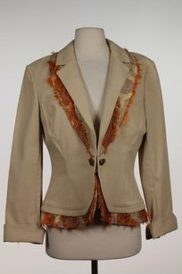 St. John Sport by Marie Gray St John Sport Womens Orange Pink Blazer Basic Jacket