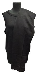 St. John St. John Sport Black Santana Knit Sleeveless Top Wide Leg Casual Pant Setl 577a