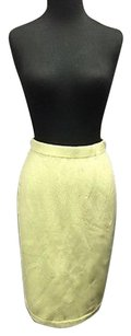 St. John Santana Knit Skirt Green
