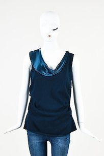 St. John Couture Navy Top Blue