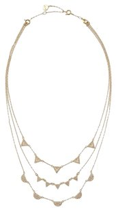 Stella & Dot Stella & Dot Gold Multi-Strand Pave Chevron Necklace - Wear Many Ways!