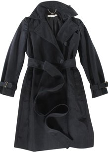 Stella McCartney 38 Black Mccartney Ej Coat