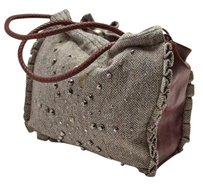 Stella McCartney Tweed Tote in Gray
