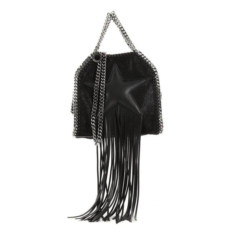mini Falabella Stars crossbody bag - Black Stella McCartney zglHF31
