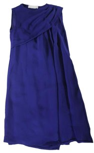 Stella McCartney short dress Blue Shift on Tradesy