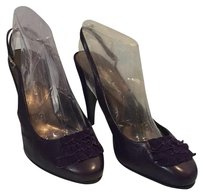 Stephane Kelian Purple Pumps