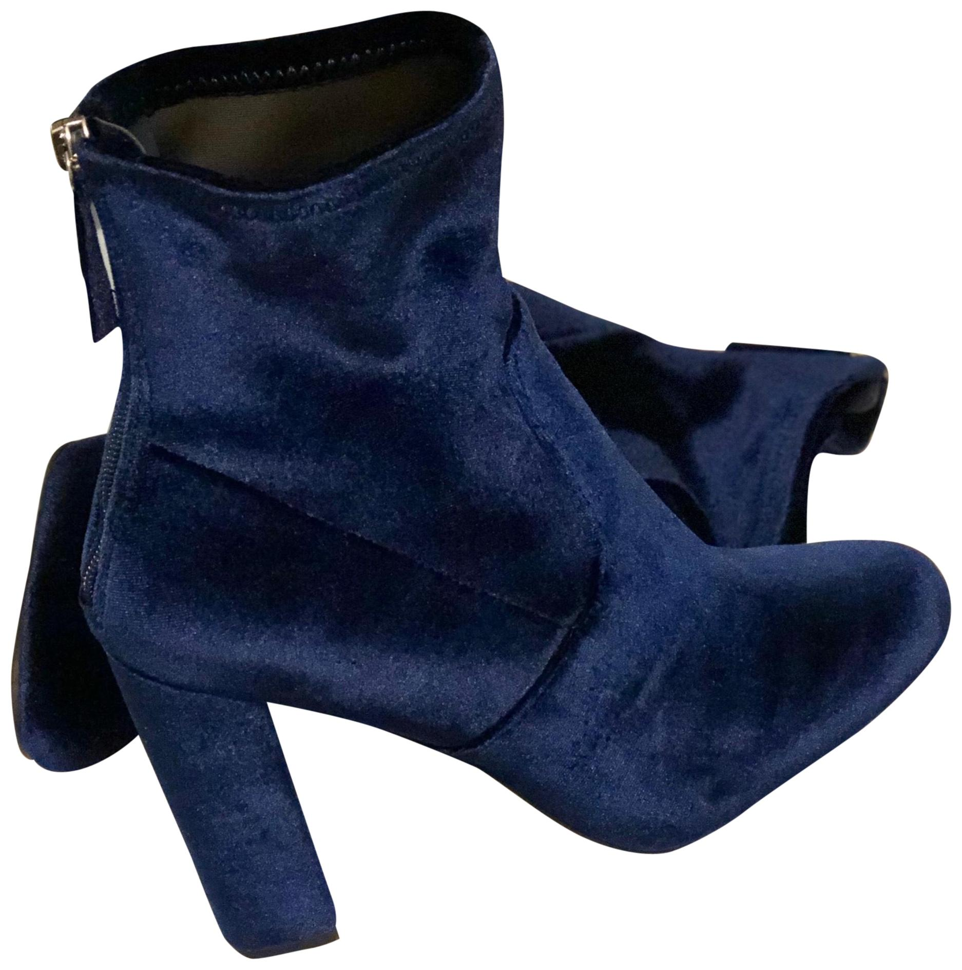 Steve US Madden Blue 190640692823 Boots/Booties Size US Steve 8.5 Regular (M, B) a019ac