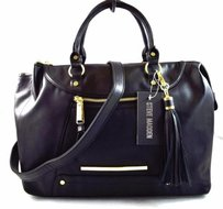 Steve Madden Clarkson Satchel in Black