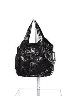 Steve Madden Womens Satchel in Black