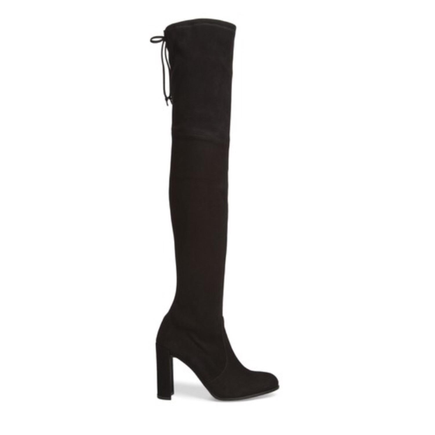 ddc85f0035c4c Stuart Weitzman Black Hiline Over The Knee Size 6 Regular (M, B ...