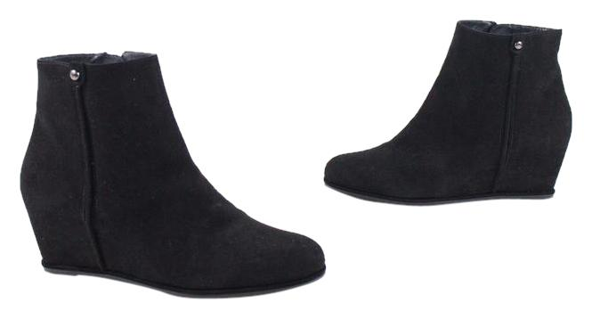 Stuart Weitzman Woman Suede Ankle Boots Black Size 9 Stuart Weitzman Cheap Sale Get To Buy Cheap Really Clearance Fashionable Cheap Hot Sale DQBlKsk46I