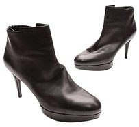 Stuart Weitzman Butter Calf Swell Ankle Size 10us Black Boots