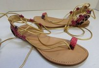 Stuart Weitzman Multi Snake Multi-Color Sandals