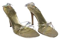 Stuart Weitzman Metallic Gold Pumps