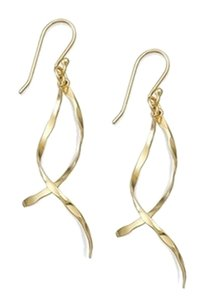 Studio Silver Studio Silver TWO Pairs of Earrings Twist Drop and Inverted Drop