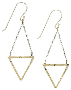 Studio Silver w/BONUS-Studio Silver-2 Pairs of Earrings Twist Drop & Inverted Drop