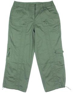 Style & Co Capri/Cropped Pants Green