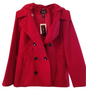 Style & Co Hooded New Pea Coat