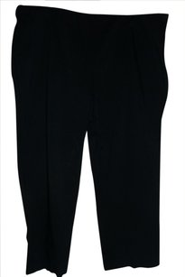 Style & Co Petites Side Zipper Trouser Pants Black