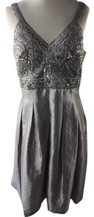 Sue Wong Empire Waist Beaded Dress