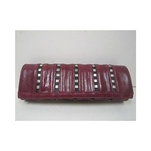 Susan Farber Collections Cherry Red Black Reds Clutch