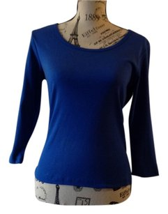 Susan Lawrence Top Navy