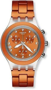 Swatch Swatch Full-blooded Naranja Unisex Watch Svck4051ag