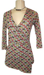 Sweet Pea by Stacy Frati Top Multi-Color