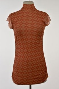 Sweet Pea by Stacy Frati Womens Top Orange